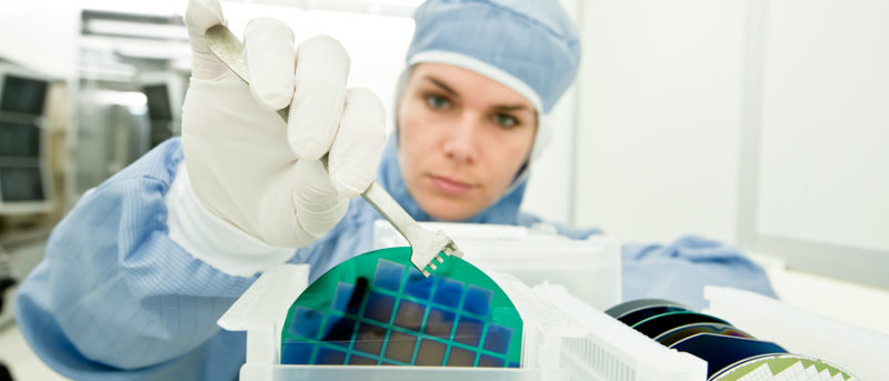 Silicon Wafer Manufacturing Process in Action